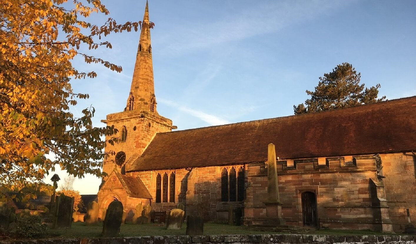 St Edithas church Church Eaton
